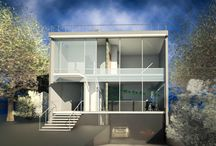 Sustainable house in the BeltLine district