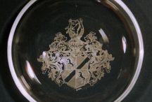 Individuelle Wappen Gravur