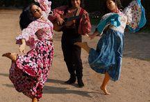 Tanssia ja vankkureita