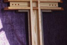 Деревянные кресты
