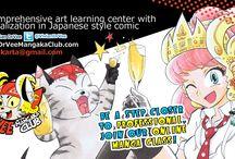 Dr.Vee Mangaka Club / The best International Online Manga learning center for future professional manga creators.  www.DrVeeMangakaClub.com