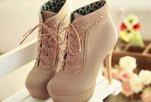 Beautiful high heels and boos