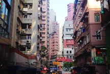 Hong Kong City / Marion spent 5 months in Hong Kong, here's some pictures of the places she visited