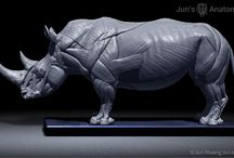Sculpture | Rhinoceros