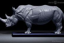 Sculpture | Rhinoceros
