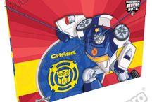 Carpetas Rescue Bots / Línea Escolar Primavera Regresa a Clases con TODO