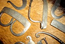 Beaver's Fire Steels / A collection of hand forged Fire Steels