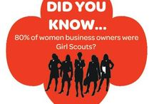 Girl Scout Inspiration / Be inspired by the world of Girl Scouts and what girls CAN do with these great quotes, images and statistics.