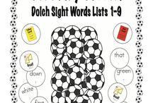 fun ways to teach reading  / by Elizabeth Browne