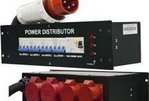 Distribuidores corriente escenario
