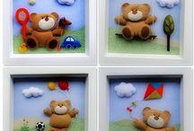 painéis ursos