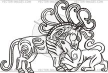 Scythian and Mongolian / In honour of HE Ogedei Bahadur and  HE Ifatahyo al-Jenne