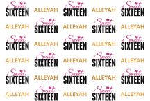 Sweet 16 Backdrops / These are some of the designs we have created for your sweet sixteen customers. Our sweet 16 step and repeat backdrops and photo booth backgrounds will take your party to the next level.