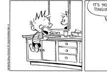Calvin and Hobbes!