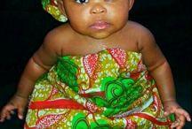 ankara headwrap baby