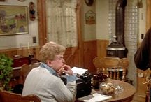 """Murder, She Wrote (Angela Lansbury) / Pins about """"Murder, She Wrote"""" TV series and Angela Lansbury."""