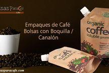 Empaques de Café - Bolsas con Boquilla/Canalón