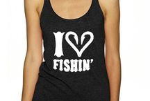 Womens Fishing T Shirts and Tank Tops / Great ladies, teen girls  and girl youth Fishing T Shirts, Tank Tops and Even Long Sleeve Shirts and Hoodies