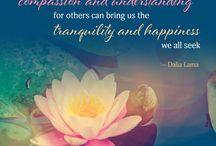 Dalai Lama Quotes / Profound yet succinct insight from the Dalai Lama. Believed to be a reincarnation of the Bodhisattva of Compassion, Avalokitesvara, the current Dalai Lama is Tenzin Gyatso, and is the 14th Dalai Lama in the line of succession.