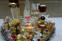 Bottles of perfume / by Mary Bramos