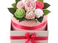Bouquets / Adorable baby bouquets for baby girls and boys. The bouquets are bright, colourful and very handy for newborns.  Baby Bouquets are baby clothes that are wrapped to look like flowers.