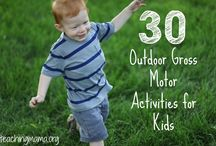 Gross Motor Skills / Gross motor skills, ideas, activities, and fun for kids.