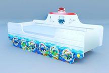 Кровати кораблики