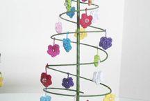 Crochê Natal / Enfeites de natal