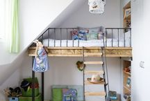 Children's attic room