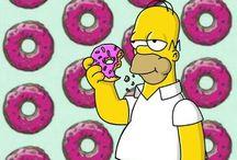 """Wallpaper """"Simpsons"""""""
