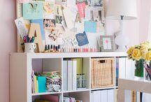 DIY Diva Den Inspiration / I'm planning a full makeover to a spare room...it will soon be my DIY Diva Den:)