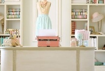 Craft Room Inspiration / Inspiring Craft Room Decor Ideas