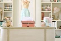 Craft Room Inspiration / Inspiring Craft Room Decor Ideas
