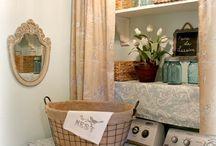 Laundry room / by Kelly Cobb