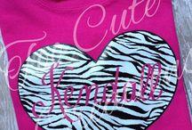 Too Cute Creations- Fun Girl Tee's