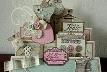 Cards Inspiration / Cards creations that I find inspirational and a someday must do list.  Very talented introspective into hand-crafted cards. / by Creatique Candy