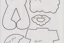 moldes desenhos kids