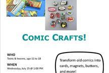 Make It @MADL - Comic Crafts