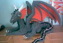 crochet dragons