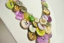 Button Jewelry / Create fun and easy jewelry with Buttons Galore buttons and findings. / by Buttons Galore and More