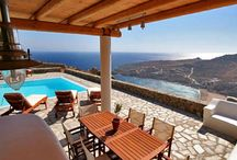 Villa Leto #Mykonos #Greece #Island / Just above the famous Super Paradise Beach in Mykonos , is the Super Paradise Villas gated complex consisting of three villas . The second villa , Villa Leto , offers breathtaking views of the beach , the Aegean Sea and the islands of Paros and Naxos . http://www.mygreek-villa.com/fr/rent-villa-search-2/villa-leto-ile-de-mykonos-gr%C3%A8ce