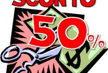 sconto 50% saldi estivi / ECCEZIONALE SCONTO 50% su TUTTO IL #saldo! Dal 10 agosto ;) fai un #saldo da noi :D