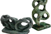 Sculpturen al à Henry Moore en Barbara Hepworth