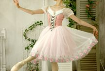 Ballerina's costumes