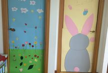 Easter and spring doors