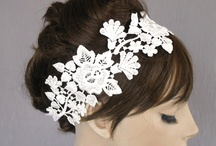 bridal / Wedding headwear by Vasiliki Syrma costume and headwear design