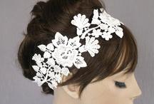 bridal / Wedding headwear by Vasiliki Syrma costume and headwear design