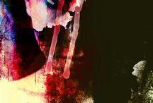 Bloody Mary / mix media