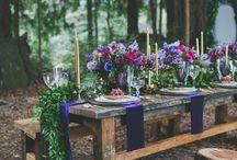 wedding inspiration - jewel tones