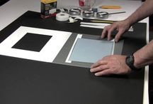 DIY Matting advice / Professional DIY advice on how to mat and hinge works on paper and photographs using conservation techniques